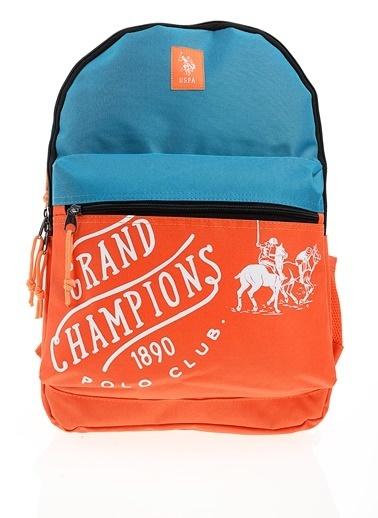 U.S.Polo Assn. Okul Çantası Oranj